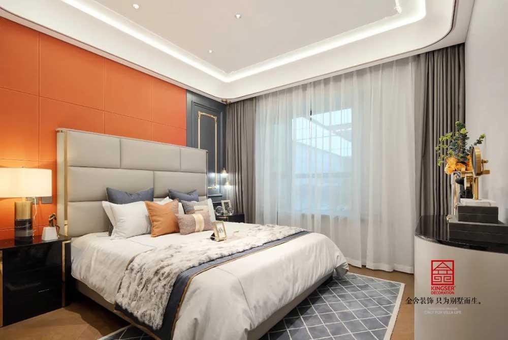 亨伦观唐名邸装修-新古典风格-卧室