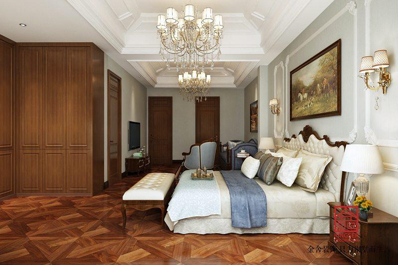 江南新城300平米装修-欧式风格-卧室