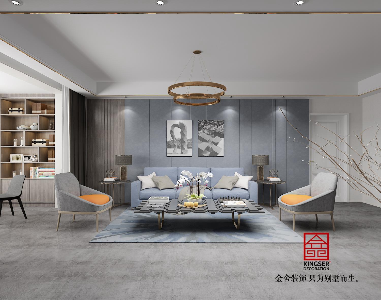 融创中心装修-超现代风格-客厅