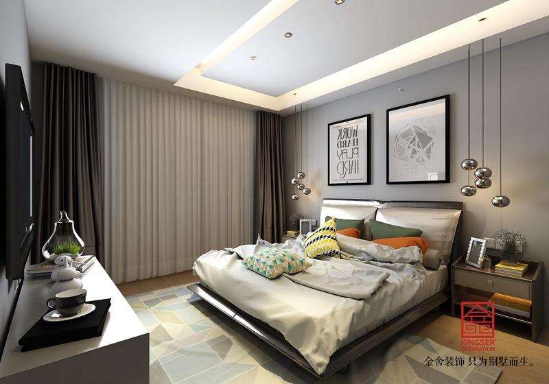 维多利亚三期156平米装修-卧室