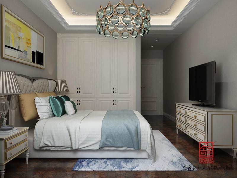 维多利亚136平米装修-现代简约-卧室