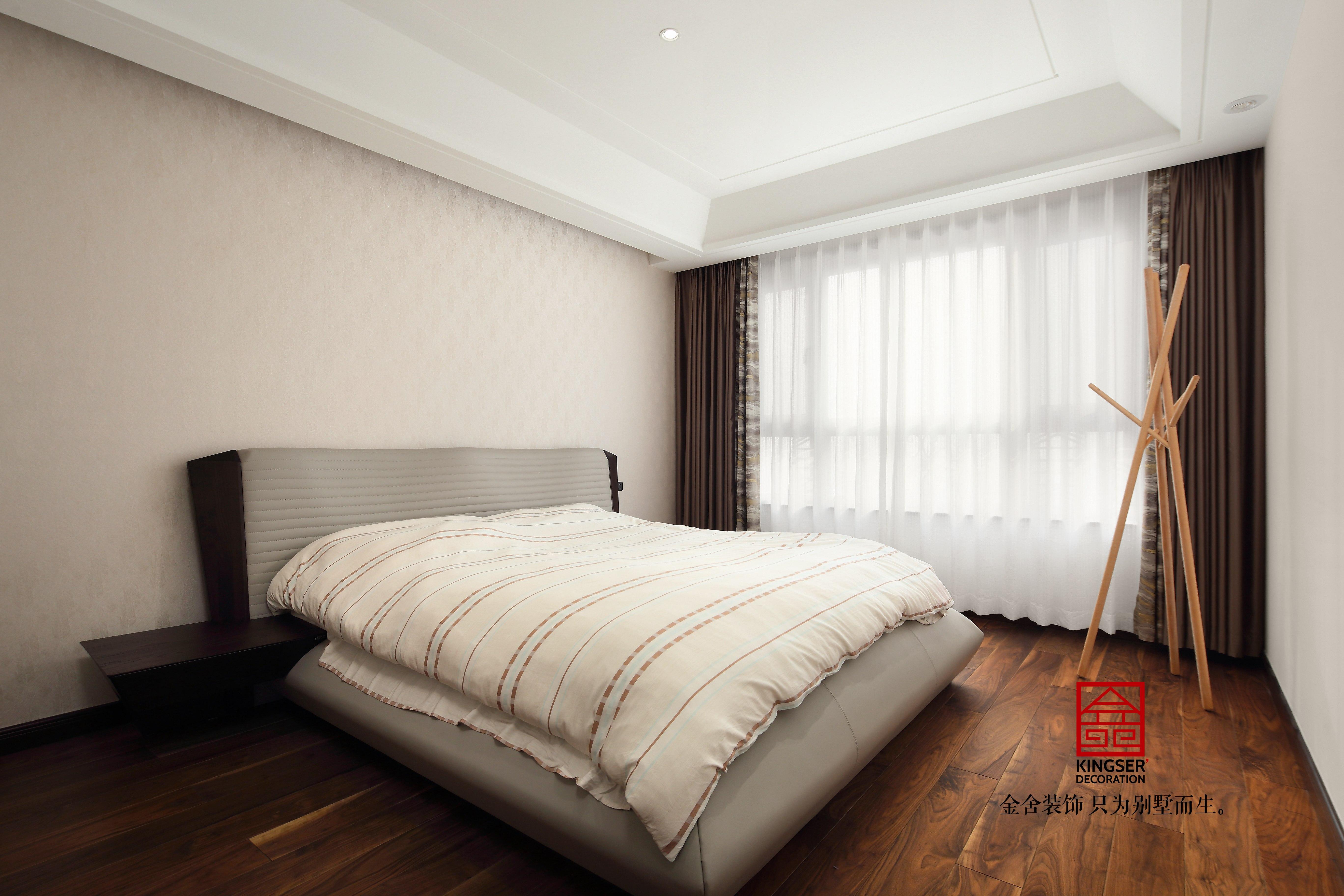 金悦府129平米现代轻奢装修-卧室