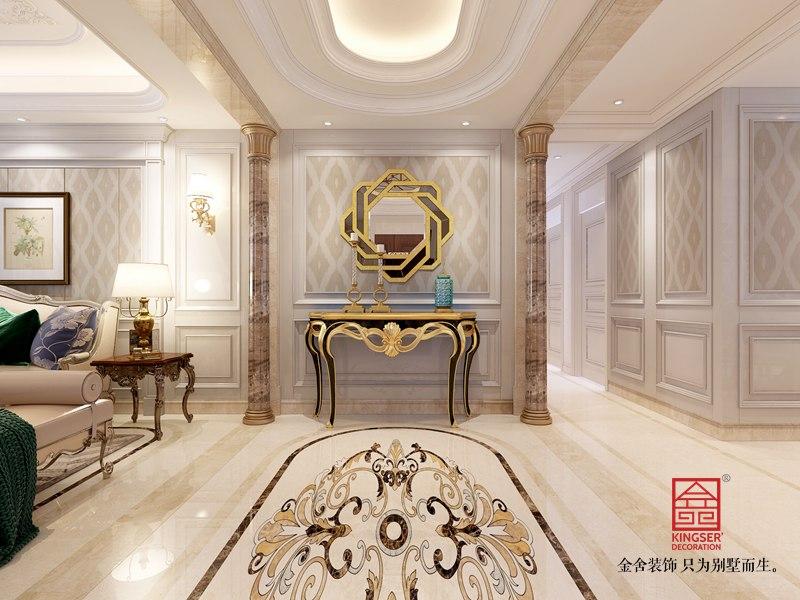 东南智汇城191平米装修-欧式风格-玄关