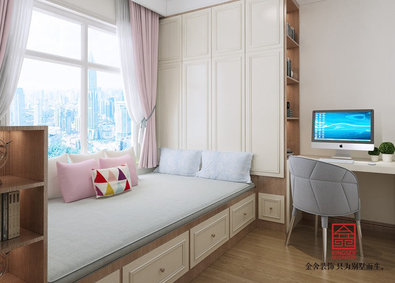 荣盛华府220平米欧式风格装修-儿童房