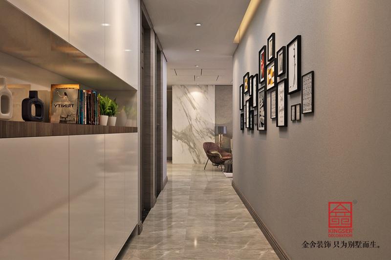 东南智汇城142平米装修-现代简约-玄关