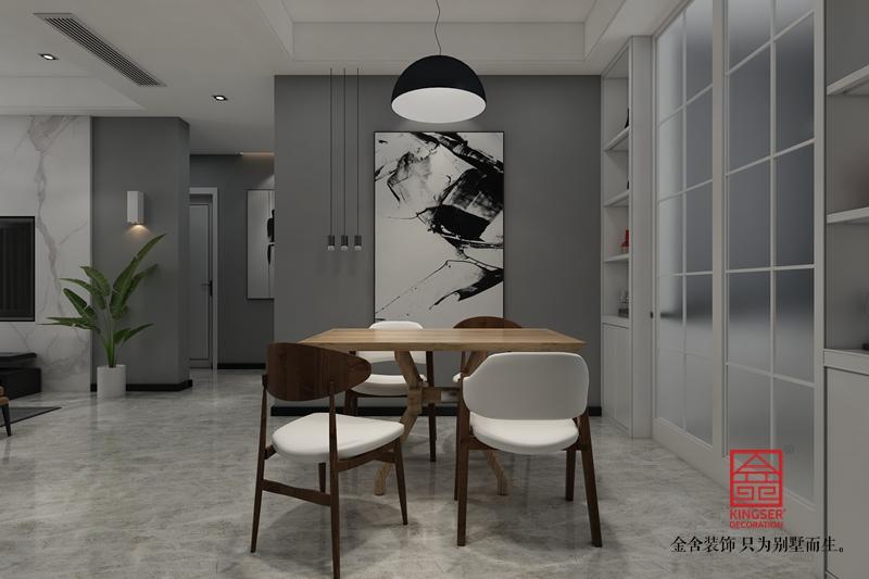 维多利亚118平米港式风格-客厅