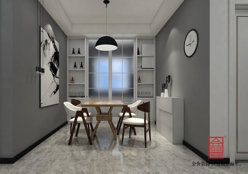 维多利亚118平米港式风格-餐厅