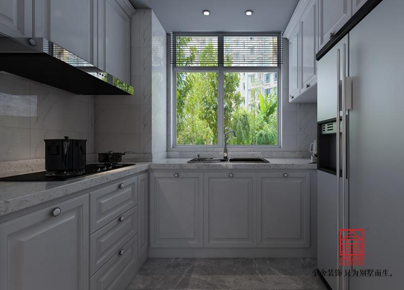 维多利亚122平米现代风格装修-厨房