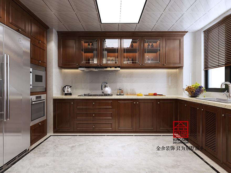 御河上院219平米新中式装修-厨房