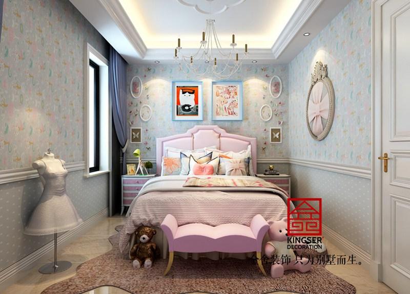 大者别墅300平米装修-美式风格-儿童房