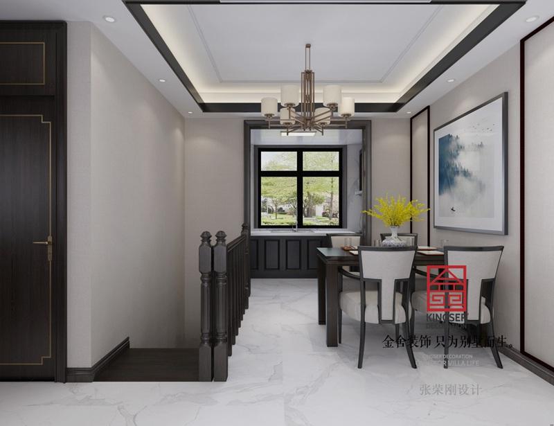 大者180平米新中式风格装修-餐厅