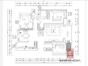 金悦府220平米新中式装修图