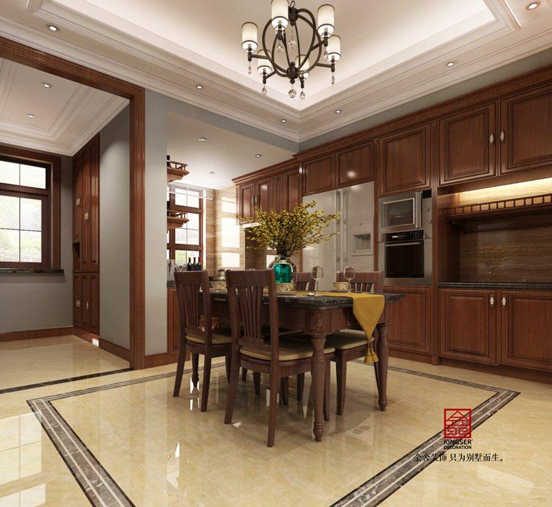 荣逸院子225平欧式装饰设计案例