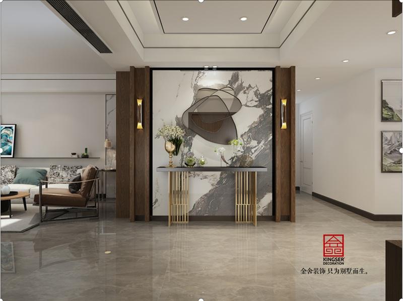 荣逸院子168现代简约装饰设计图纸-玄关
