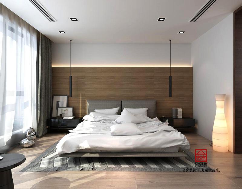 荣逸院子168现代简约装饰设计图纸-卧室