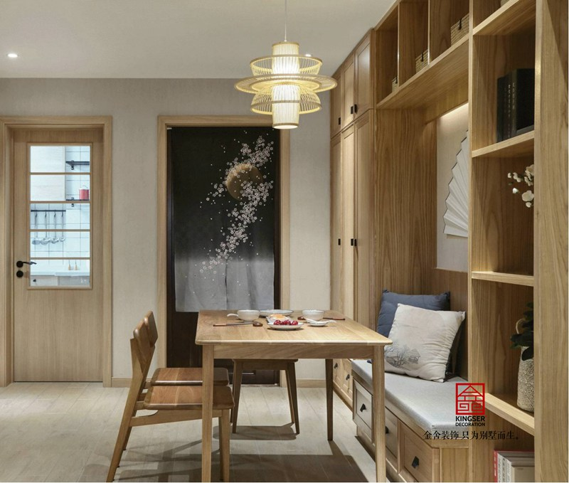 荣逸院子119平新中式装饰设计案例-餐厅