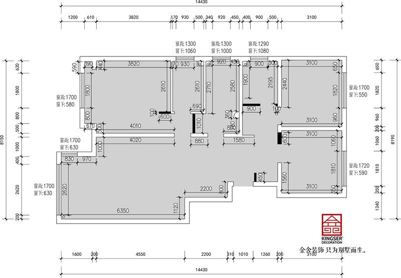 荣逸院子119平新中式风格设计案例