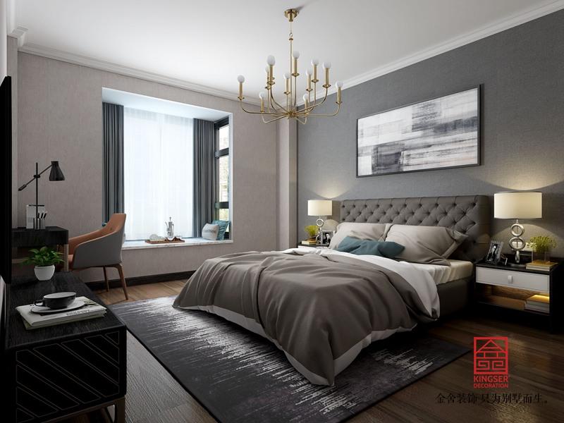 维多利亚155平米装修-中式风格-卧室