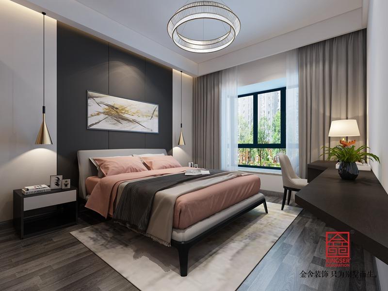 紫晶悦城210平米装修-台式风格-卧室