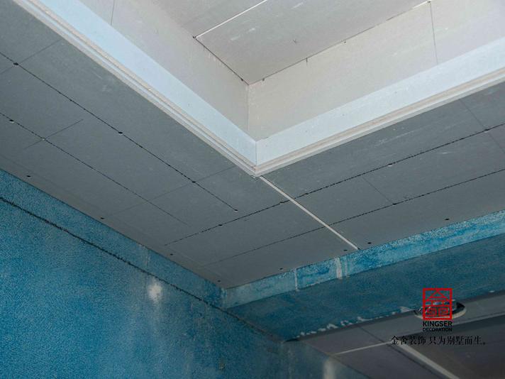 东南智汇城191平米装修施工瓦工阶段