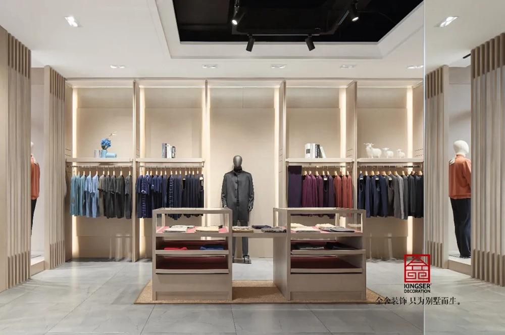 红太羊绒店面装修实景-北欧风格-购物区