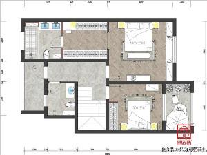 西山林语二期200平米装修户型解析