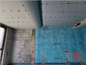 融创中心217平米装修木工完工阶段