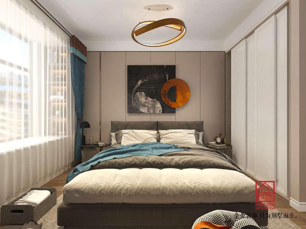 融创中心155平米装修-卧室