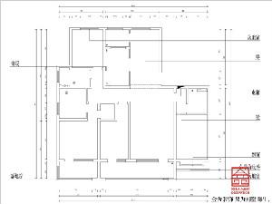 融创中心217平米装修户型解析