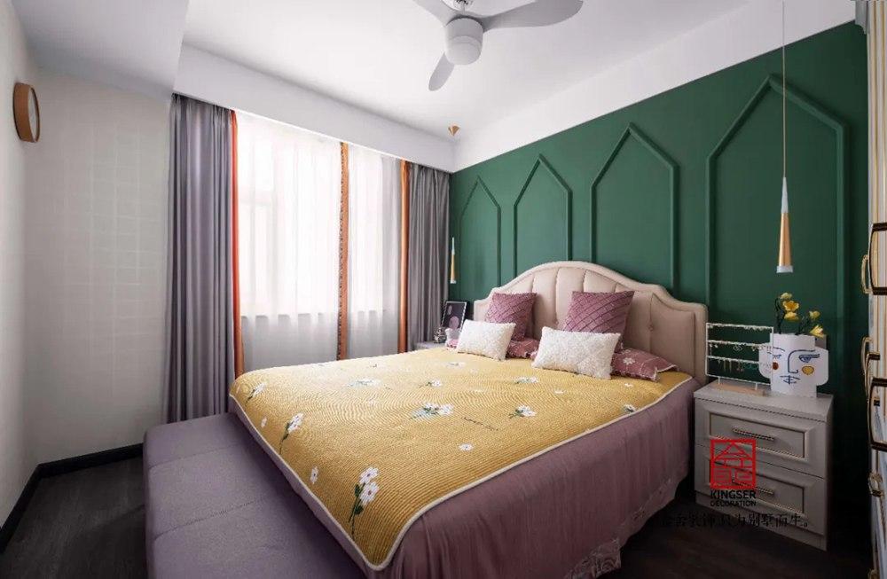 祥云凤凰福邸158平装修-中式风格-卧室