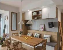年轻人都喜欢这样餐厅设计,美观实用省空间