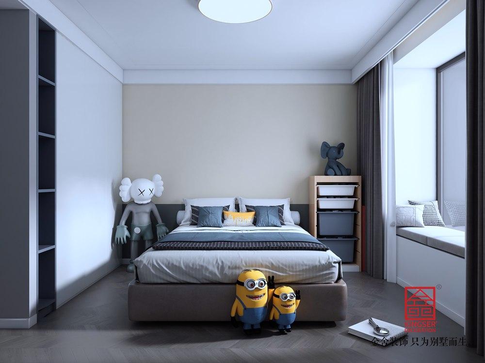 尚宾城173平米装修-现代简约-卧室