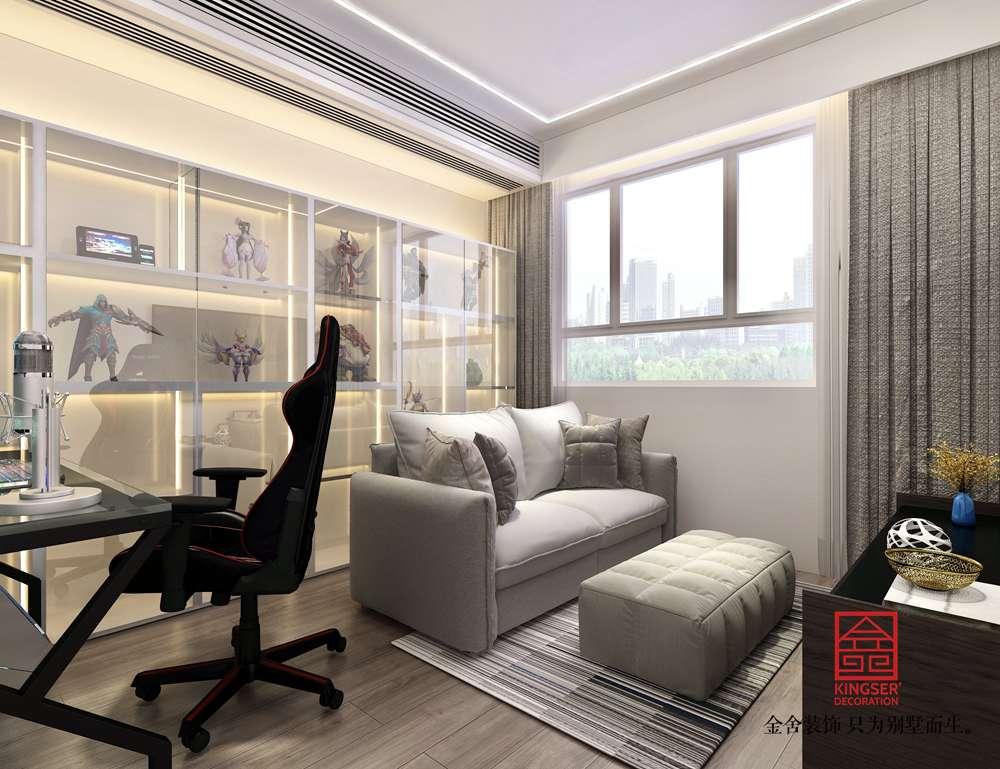 尚宾城173平米装修-现代简约-休息室