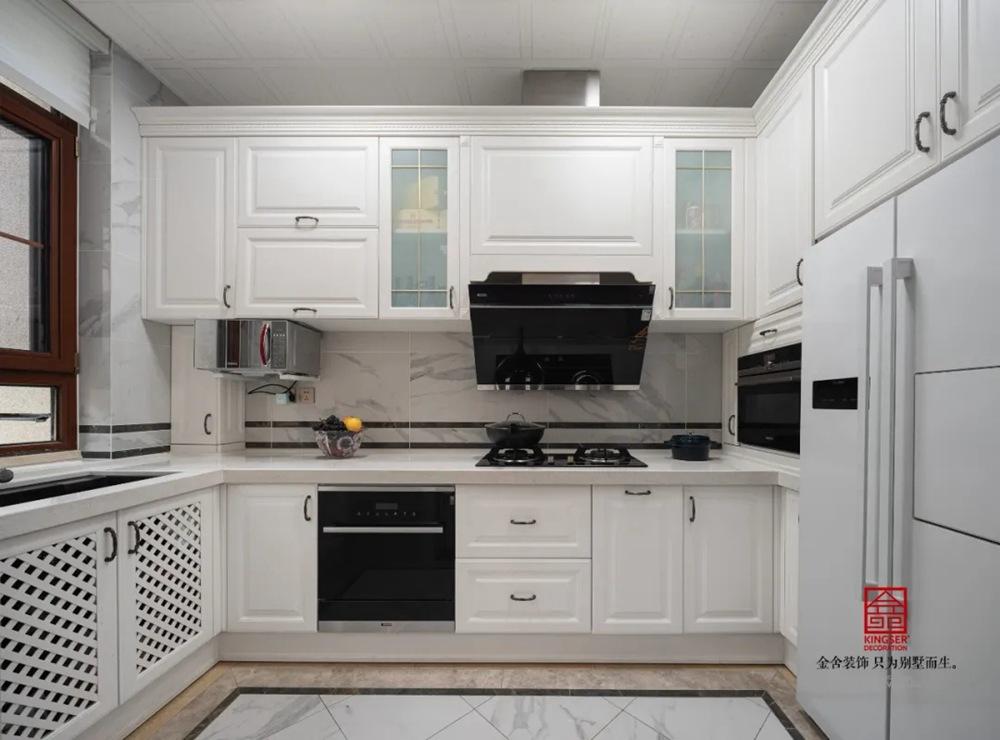 西山林语300平米欧式风格装修-厨房
