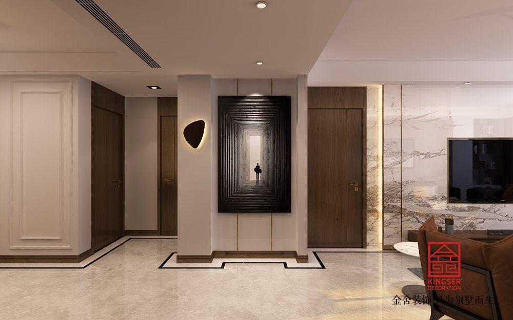 奥北公元134平米装修-现代风格-玄关