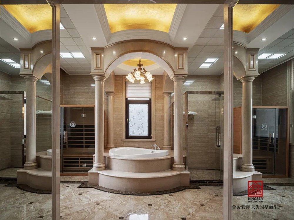 无极御珑华府2400平米别墅欧式风格-卫生间