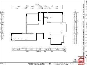 奥北公元134平米装修户型分析