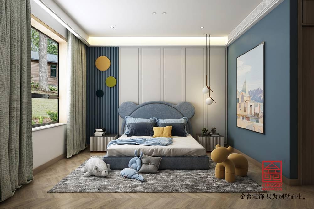 荣盛华府205平米装修-现代风格-卧室