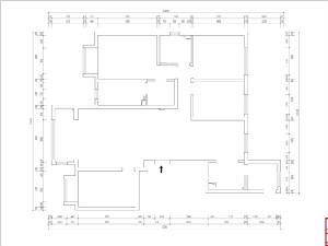 东南智汇城191平米美式风格装修户型解析