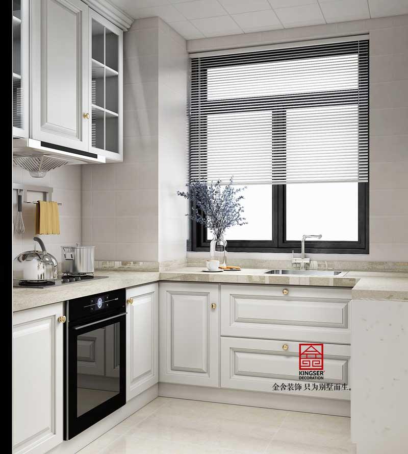 维多利亚135平装修-现代简约-厨房