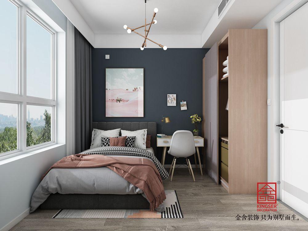 东南智汇城94平米现代风格装修-儿童房