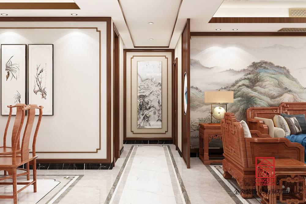 维多利亚三期166平米装修-玄关