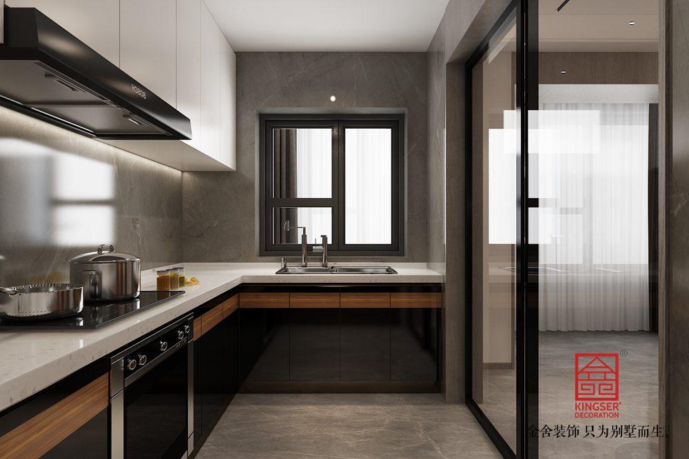 荣盛和府183平米装修-现代简约风格-厨房