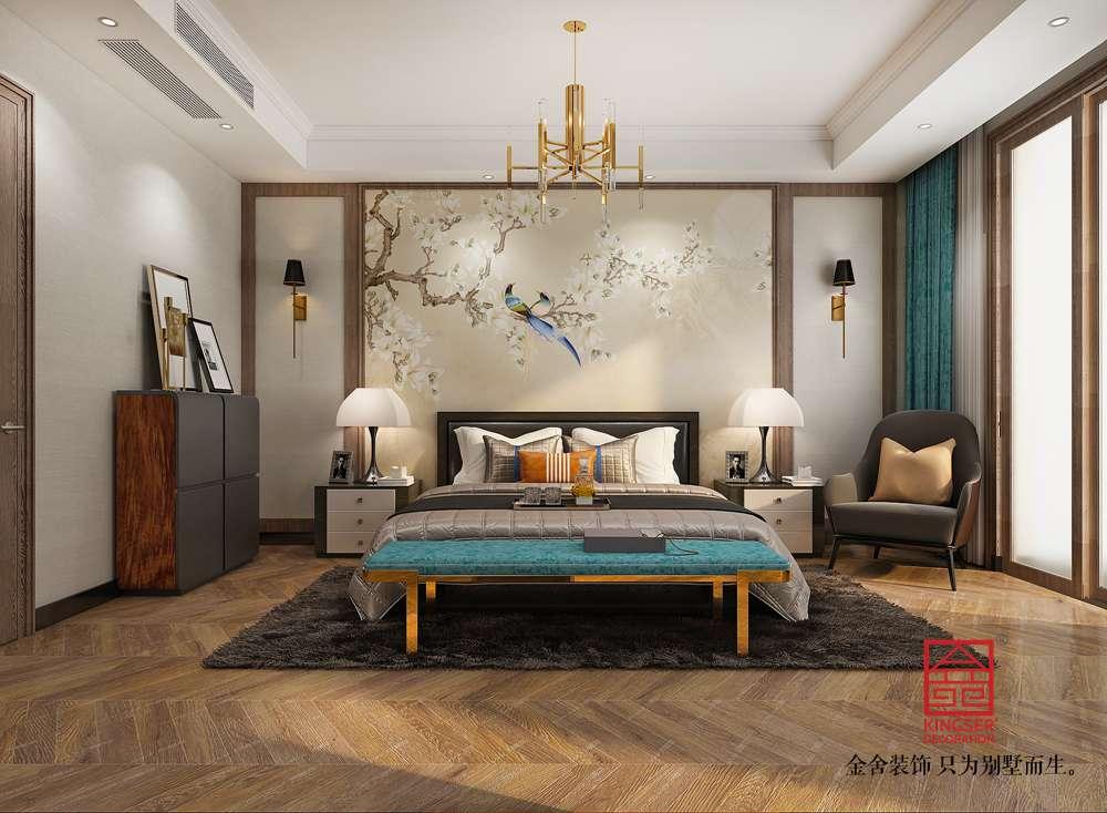 大者别墅290平米装修-现代简约-卧室