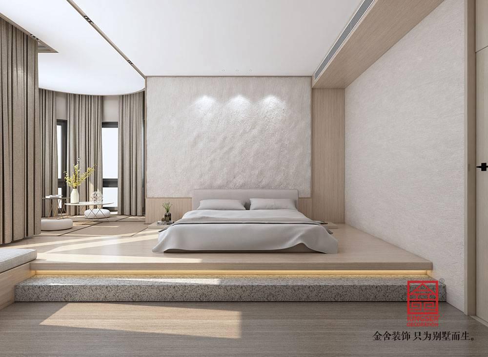 汇君城360平米装修-现代简约风格-卧室