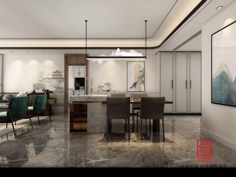 大者260平米新中式风格装修-餐厅