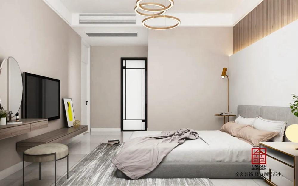 翰林甲第166平米装修-轻奢风格-卧室