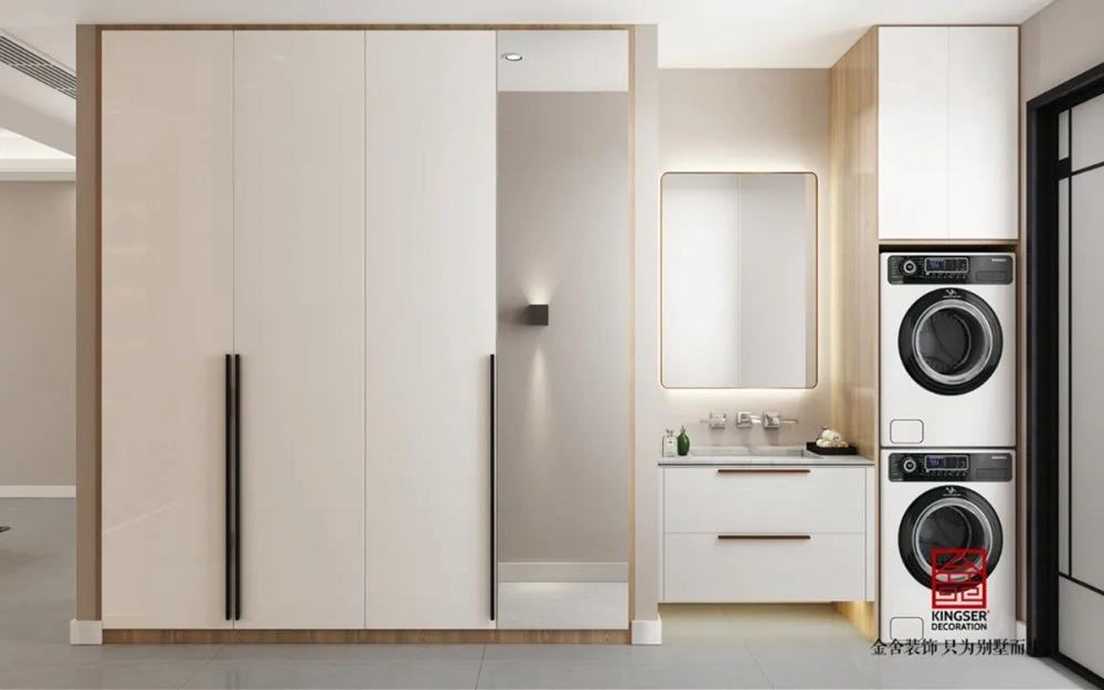 翰林甲第166平米装修-轻奢风格-卫生间
