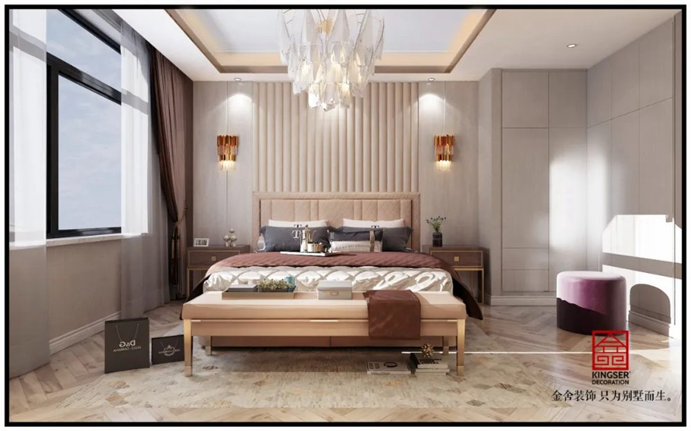 翰林甲第166平米装修轻奢风格-儿童房