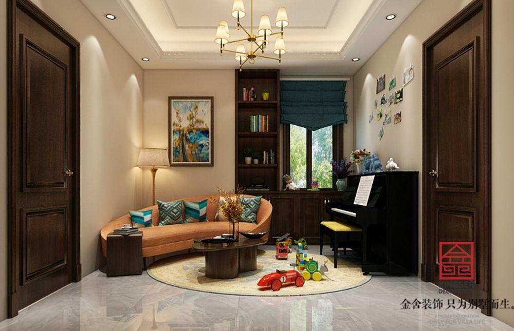 碧桂园260平美式风格装修-儿童房